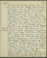 May Bragdon Diary, October 22, 1893 – October 23, 1893, p. 253