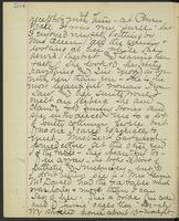 May Bragdon Diary, October 23, 1893, p. 254