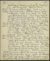 May Bragdon Diary, October 26, 1893 – October 31, 1893, p. 257