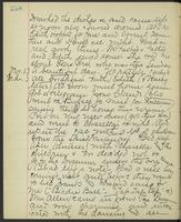 May Bragdon Diary, October 31, 1893 – November 1, 1893, p. 258