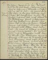 May Bragdon Diary, November 1, 1893 – November 2, 1893, p. 259