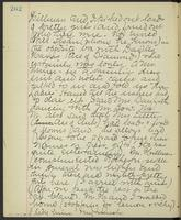 May Bragdon Diary, November 3, 1893, p. 262