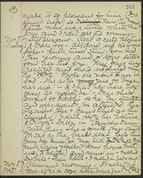 May Bragdon Diary, November 6, 1893 – November 8, 1893, p. 265