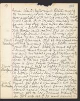 May Bragdon Diary, November 12, 1893 – November 15, 1893, p. 267