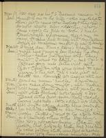 May Bragdon Diary, March 11, 1905 – March 16, 1905, p. 175