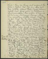 May Bragdon Diary, November 18, 1893 – November 19, 1893, p. 270