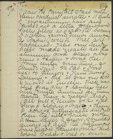 May Bragdon Diary, November 25, 1893, p. 275